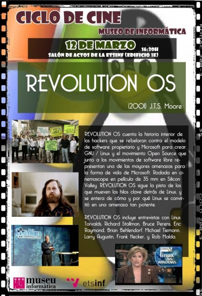 Cicle de Cinema – Revolution OS