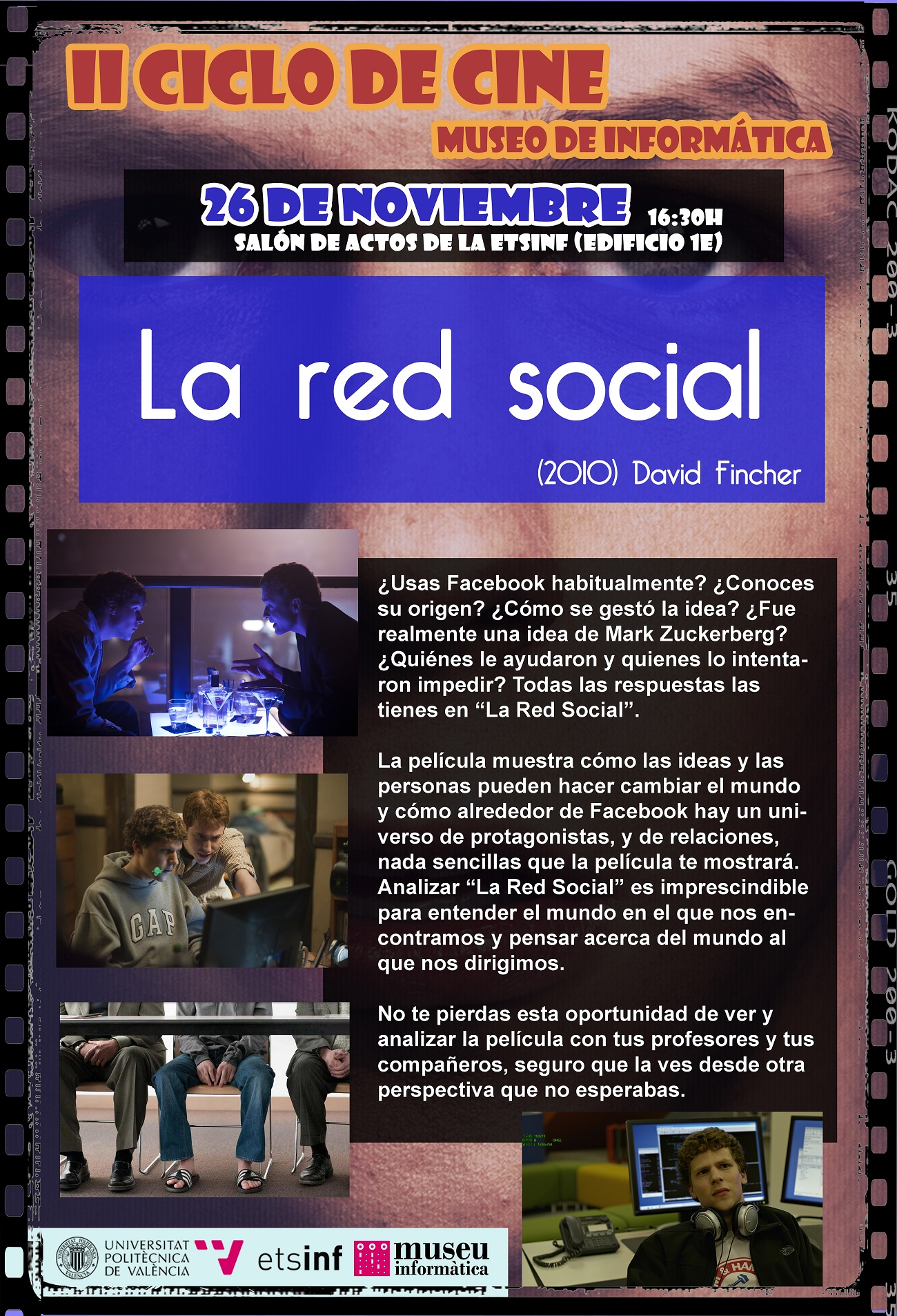 II Cicle de Cinema – La Red Social