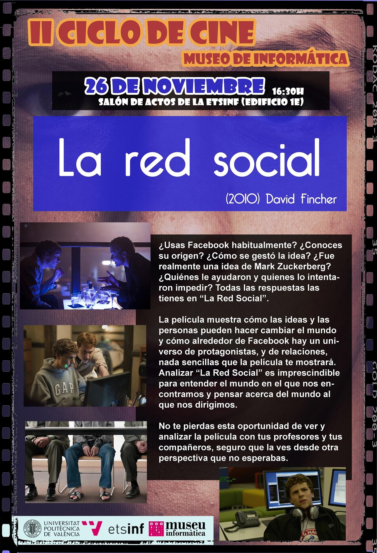 II Ciclo de Cine – La Red Social