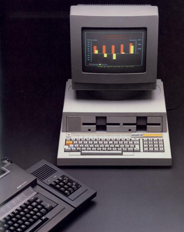 Ordenador personas Olivetti M20